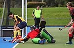 Auckland Intercity Hockey, Lloyd Elsmore Park, Roskill v Sommerville. Auckland Hockey Stadium, Auckland, Saturday 11 May 2019. Photo: Simon Watts/Hockey NZ
