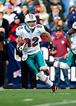 29 November 2009: Miami Dolphins' wide receiver Brian Hartline in action against the Buffalo Bills at Ralph Wilson Stadium in Orchard Park, New York. The Bills defeated the Dolphins 31-14. Mandatory Credit: Ed Wolfstein Photo