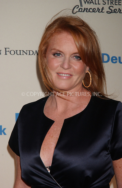 WWW.ACEPIXS.COM . . . . .....October 9, 2007. New York City.....Duchess Of York Sarah Ferguson arrives at the 2007 Cipriani Wall Street Concert Series featuring Rihanna and Akon at Cipriani Wall Street in New York...  ....Please byline: Kristin Callahan - ACEPIXS.COM..... *** ***..Ace Pictures, Inc:  ..Philip Vaughan (646) 769 0430..e-mail: info@acepixs.com..web: http://www.acepixs.com