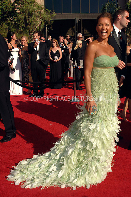 WWW.ACEPIXS.COM . . . . .  ....September 16, 2007. Los Angeles, CA....Actress Vanessa Williams arrives at the 59th Primetime Emmy Awards held at Shrine Auditorium in Los Angeles, CA.......Please byline: Dennis Van Tine - ACEPIXS.COM.... *** ***..Ace Pictures, Inc:  ..Philip Vaughan (646) 769 0430..e-mail: info@acepixs.com..web: http://www.acepixs.com