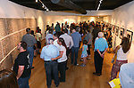 A large crowd gathers for the final reception of the Always Lost: A Meditation on War exhibit at Western Nevada College in Carson City, Nev., on Thursday, July 28, 2016. The exhibit, which opened at WNC in 2009, memorializes the sacrifices of veterans and their families. <br />