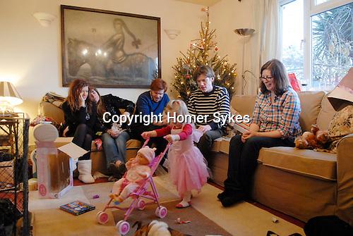 Christmas 2009 Sykes family + Joshua.
