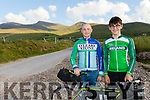 L-R Mikey Moriarty, who completed the Trans Atlantic Way Cycle last Thursday, and his brother Tom , who cycles with the Irish Team, pictured near their home at kilcummin, Castlegregory last Monday evening.