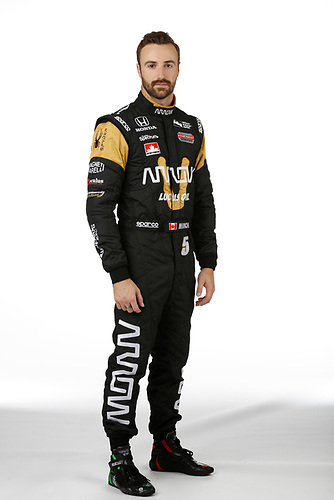 2 February, 2016, Indianapolis, Indiana USA<br /> James Hinchcliffe<br /> &copy;2016, Michael L. Levitt<br /> LAT Photo USA