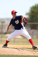 GCL Nationals Jason Smith #33 during a game against the GCL Mets at the Washington Nationals Minor League Complex on June 20, 2011 in Melbourne, Florida.  The Nationals defeated the Mets 5-3.  (Mike Janes/Four Seam Images)
