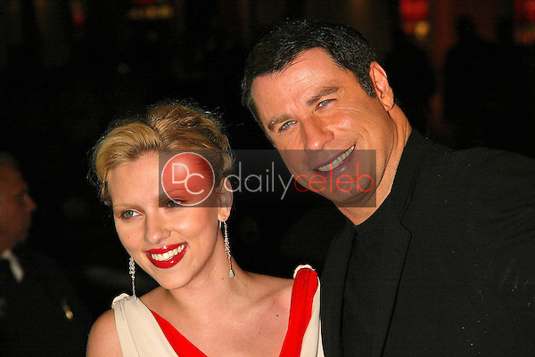 Scarlett Johansson and John Travolta