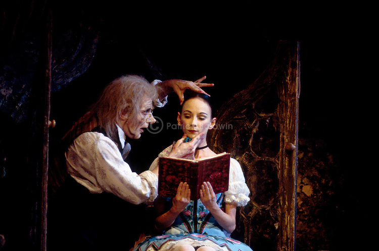 English National Ballet's production of Coppelia choreographed by Ronald Hynd. Kevin Richmond.
