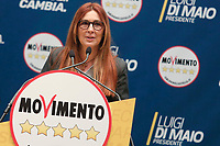 Patty L'Abbate<br /> Roma 29/01/2018. Presentazione dei candidati nelle liste uninominali del Movimento 5 Stelle.<br /> Rome January 29th 2018. Presentation of the candidates for Movement 5 Stars.<br /> Foto Samantha Zucchi Insidefoto