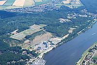 Deutschland, Schleswig- Holstein, Geesthacht, Kruemmel, AKW Kruemmel, GKSS, Elbe, Atom AKW