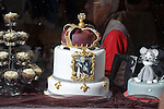 A right royal cake in the Forres High Street ahead of the Rangers match.