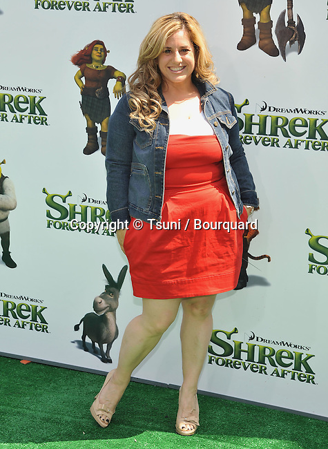 Marissa Jaret Winokur _69   -<br /> Shrek Forever After Premiere at the Gibson Amphitheatre in Los Angeles.