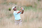 Jorge Campillo Iniguez plays from the deep rough on the 17th during the second round of the ISPS Handa Wales Open 2013 at the Celtic Manor Resort<br /> <br /> 30.08.13<br /> <br /> &copy;Steve Pope-Sportingwales