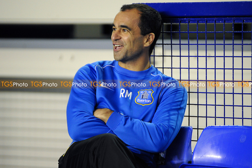 Everton 1st team manager Roberto Martinez - Everton Under-21 vs Manchester United Under-21 - Barclays Under-21 Premier League Football at Goodison Park, Liverpool - 21/10/13 - MANDATORY CREDIT: Greig Bertram/TGSPHOTO - Self billing applies where appropriate - 0845 094 6026 - contact@tgsphoto.co.uk - NO UNPAID USE