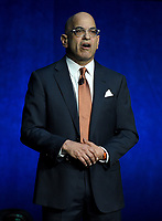 LAS VEGAS, NV - APRIL 24: President of Domestic Distribution and Warner Bros. Pictures Jeff Goldstein onstage during the Warner Bros. Pictures presentation at CinemaCon 2018 at The Colosseum at Caesars Palace on April 24, 2018 in Las Vegas, Nevada. (Photo by Frank Micelotta/PictureGroup)