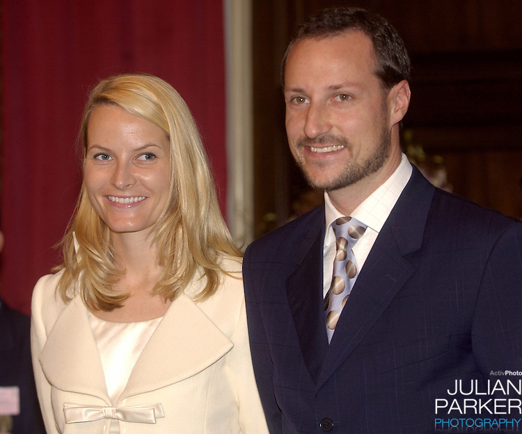 Crown Prince Haakon & Crown Princess Mette-Marit of Norway's visit to Thailand..Opening the Thai Norwegian Seminar, sharing experiences in promoting regional & global peace, at Chulalongkorn University, Bangkok..