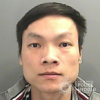 "Pictured: Khuong Van Luong<br /> Re: The ringleaders of a Vietnamese crime gang have been jailed after police seized 2.5 tonnes of cannabis worth about £6m in raids across south Wales.<br /> A total of 21 people have been sentenced in a case going back to 2017 after dozens of cannabis factories were uncovered across the region and beyond.<br /> One of the defendants initially claimed to be 14 years old, but police proved he was actually aged 26.<br /> The gang leaders were sentenced at Merthyr Tydfil Crown Court on Friday.<br /> Bang Xuan Luong, 44, was sentenced to eight years in prison. His partner, 42-year-old Vu Thi Thu Thuy, was jailed for six years and Tuan Anh Pham, 20, who was described in court as the ""IT Man"", received five years.<br /> An investigation into a cannabis factory in the Cynon Valley led officers from South Wales Police's Force Intelligence and Organised Crime Unit (FIOCU) to a string of others across south Wales, Gwent and Dyfed-Powys force areas."