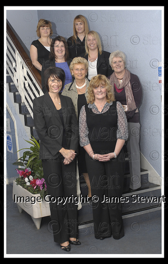 08/10/2007       Copyright Pic: James Stewart.File Name : IYR01.FALKIRK COUNCIL :: CELEBRATING SUCCESS.IT'S YOUR RIGHT - USE IT.1ST ROW ELEANOR WARDLAW, HELEN MACLAREN. 2ND ROW ISOBEL GRAY, ANNETTE WALCZYNSKA. 3RD ROW ELAINE COSTELLO, FIONA MITCHELL. 4TH ROW MARI MOFFAT, LISA GORDON..James Stewart Photo Agency 19 Carronlea Drive, Falkirk. FK2 8DN      Vat Reg No. 607 6932 25.Office     : +44 (0)1324 570906     .Mobile   : +44 (0)7721 416997.Fax         : +44 (0)1324 570906.E-mail  :  jim@jspa.co.uk.If you require further information then contact Jim Stewart on any of the numbers above........