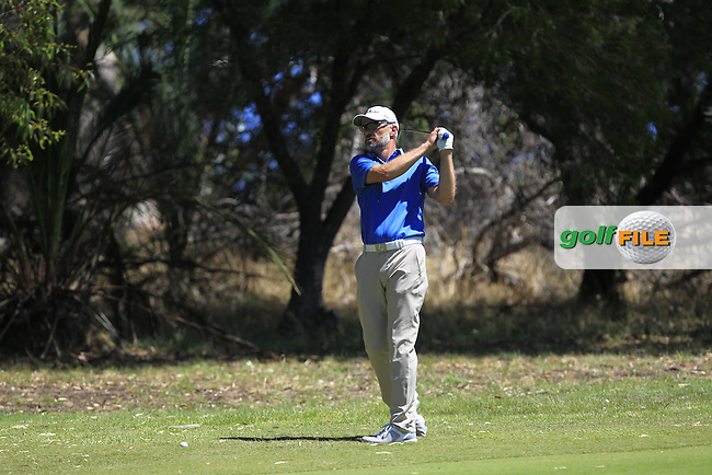 Michael Long (NZL) on the 2nd fairway during Round 3 of the ISPS Handa World Super 6 Perth on Saturday 18th February 2017.<br /> Picture:  Thos Caffrey / Golffile<br /> <br /> All photo usage must carry mandatory copyright credit     (&copy; Golffile | Thos Caffrey)