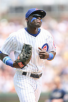 June 18th 2007:  Felix Pie of the Chicago Cubs during a game at Wrigley Field in Chicago, IL.  Photo by:  Mike Janes/Four Seam Images