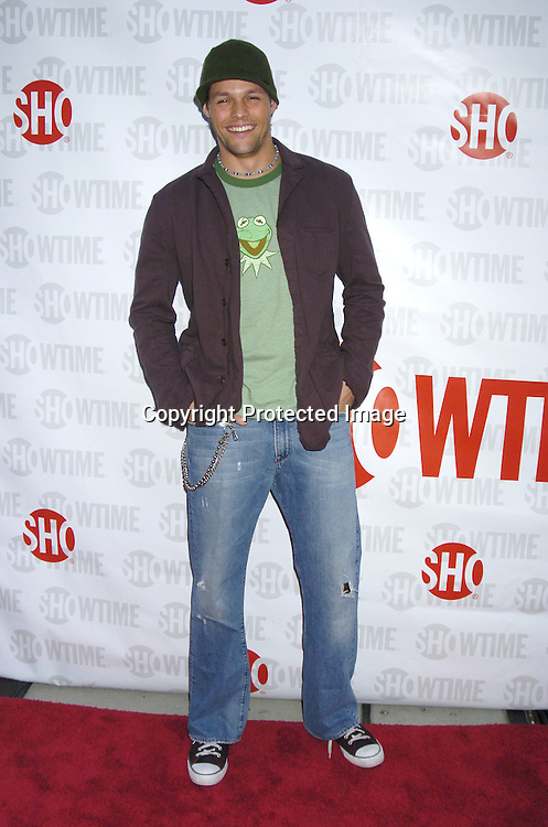 "Justin Bruening  ..at the New York Premiere of Showtime's ""Reefer Madness""..on April 10,  2005 at The DGA Theatre. Broadway Cares/Equity Fights Aids was benefitting from the Premiere  ..Photo by Robin Platzer, Twin Images"
