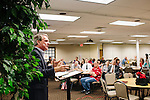 Dr. William Craig leads a Defenders class at Johnson Ferry Baptist Church in Marrietta, Georgia June 23, 2013.