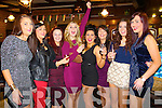 Lisa Cronin, Ciara McCarthy, Sinead Hennessy, Mary Anna Rice, Siobhán McCarthy, Tracy O'Driscoll, Lisa Lavers and Roisin Kelliher, enjoying the New Year's Eve celebrations in the Danny Man bar, Killarney on Tuesday night.