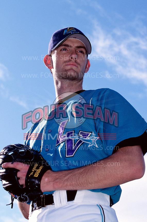 Matt Clement of the Las Vegas Stars participates in a minor league baseball game during the 1998 season at Cashman Field in Las Vegas, Nevada. (Larry Goren/Four Seam Images)