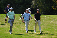 Brendon Todd (USA), Robert McIntyre (SCO), and Matthias Schwab (AUT) head down 2 during Rd4 of the World Golf Championships, Mexico, Club De Golf Chapultepec, Mexico City, Mexico. 2/23/2020.<br /> Picture: Golffile | Ken Murray<br /> <br /> <br /> All photo usage must carry mandatory copyright credit (© Golffile | Ken Murray)