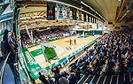S&ouml;dert&auml;lje 2014-04-15 Basket SM-Semifinal 5 S&ouml;dert&auml;lje Kings - Uppsala Basket :  <br /> Vy &ouml;ver T&auml;ljehallen fr&aring;n ena l&auml;ktaren under matchen mellan S&ouml;dert&auml;lje Kings och Uppsala Basket <br /> (Foto: Kenta J&ouml;nsson) Nyckelord:  S&ouml;dert&auml;lje Kings SBBK Uppsala Basket SM Semifinal Semi T&auml;ljehallen inomhus interi&ouml;r interior supporter fans publik supporters