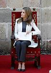 Princess Letizia of Spain attends the 'Principe de Viana' 2013 award .June 06,2013. (ALTERPHOTOS/Acero)