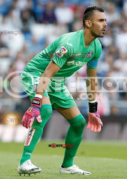 Getafe's Jordi Codina during La Liga match. May 23,2015. (ALTERPHOTOS/Acero) /NortePhoto.com