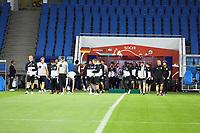 Deutsche Mannschaft betritt das Fisht Stadium - 18.06.2017: Pressekonferenz Deutschland, Fisht Stadium Sotschi