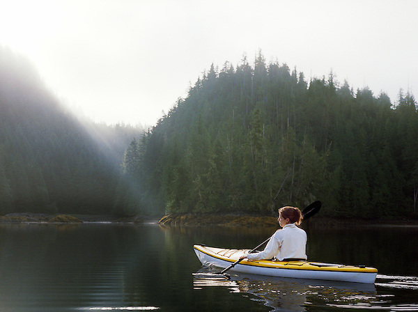 Nimmo Bay Fishing Resort, British Columbia, Canada, Helicopter, Summer