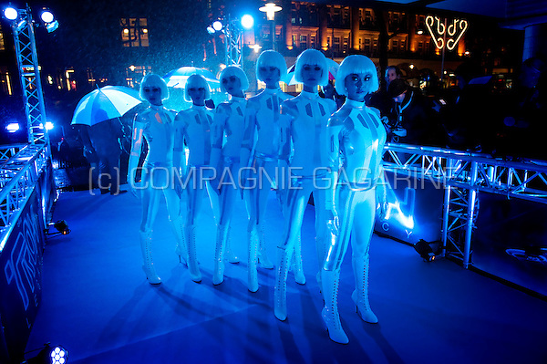 Disney's Tron Legacy movie première in Amsterdam at the Pathé City Theatre (Holland, 12/01/2011)