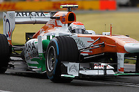 MELBOURNE, 16 MARCH - Adrian Sutil (DEU) from the Sahara Force India F1 Team rounds turn six in free practice session three on day three of the 2013 Formula One Rolex Australian Grand Prix at the Albert Park Circuit in Melbourne, Australia. Photo Sydney Low / syd-low.com