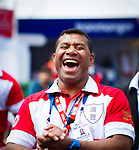 Guest attends the HSBC Sevens Village as part of the Cathay Pacific / HSBC Hong Kong Sevens at the HSBC Sevens Village on 28 March 2015 in Hong Kong, China. Photo by Moses Ng  / Power Sport Images