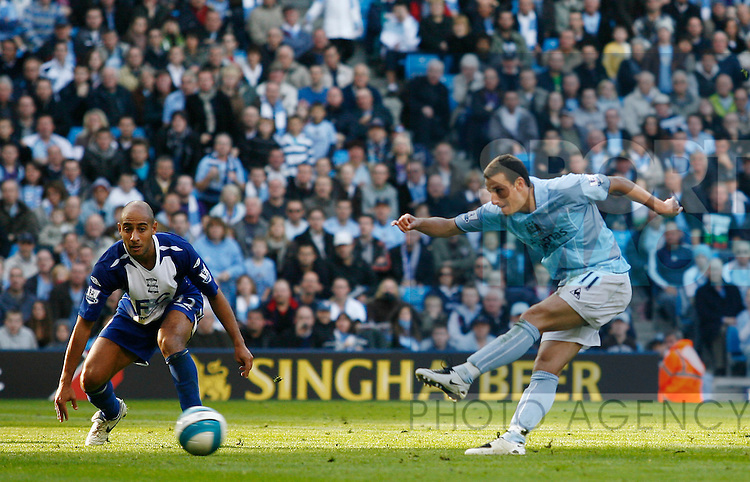 Manchester City's Elano scores the opening goal