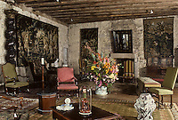 Europe/France/Limousin/23/Creuse/Boussac: Le Château de Boussac XIIème-XVème - le salon du Prince Zizim
