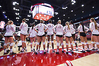 Stanford Volleyball W vs Minnesota, August 28, 2016
