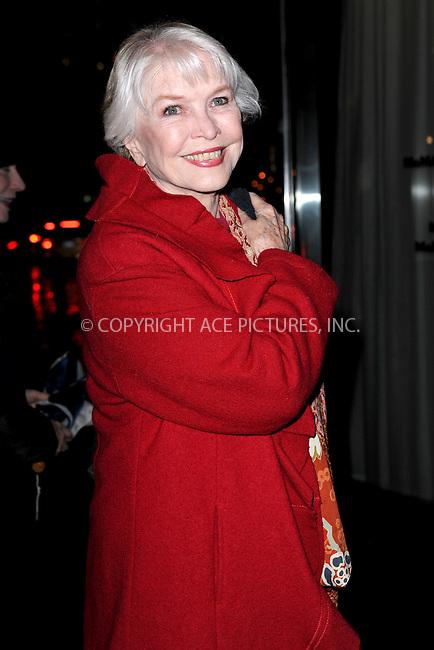 WWW.ACEPIXS.COM<br /> April 7, 2015 New York City<br /> <br /> Ellen Burstyn attending the special screening of Relativity Studio's 'Desert Dancer' at Museum of Modern Art on April 7, 2015 in New York City.<br /> <br /> Please byline: Kristin Callahan/AcePictures<br /> <br /> ACEPIXS.COM<br /> <br /> Tel: (646) 769 0430<br /> e-mail: info@acepixs.com<br /> web: http://www.acepixs.com