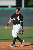 AZL White Sox second baseman Jose Rodriguez (5) during an Arizona League game against the AZL Royals at Camelback Ranch on June 19, 2019 in Glendale, Arizona. AZL White Sox defeated AZL Royals 4-2. (Zachary Lucy/Four Seam Images)