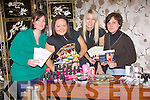 Taking part in the alternative therapy day at Ballyloughran House, Lisselton on Sunday were, Angela Murphy, Listowel, Philomena McCarthy, prop Beauty Room, Ballyloughran House, jessica dee, Ballyduff and Magdalena Serafin, Lixnaw,     Copyright Kerry's Eye 2008
