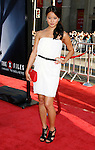 """Actress Jamie Chung arrives at the The World Premiere of """"The X-Files: I Want To Believe"""" at Mann's Grauman Chinese Theatre on July 23, 2008 in Hollywood, California."""