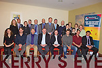 AWARDS: Attending the Kerry County Enterprise Awards lunch in the Manor West Hotel on Monday were front l-r: Yolande Serrano, Benoit Lorge, John Saliba, Pierce Walsh, Sean Rush, Oliver Holbein, Oliver Beaujouan and Stephen Linnane. Back l-r: Fiona Leahy, John Moriarty, Deirdre Moynihan, Paddy Garvey, Tom Shanahan, Tomas Hayes, Cllr. Arthur Spring, County Manager Tom Curran, Jene Boyd, Cormac Linnane, Fintan Linnane, Monica Prenderville, Josephine Griffin and Sheila Hannon.