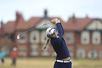 Hannah Green (AUS) on the 2nd fairway during Round 3 of the Ricoh Women's British Open at Royal Lytham &amp; St. Annes on Saturday 4th August 2018.<br /> Picture:  Thos Caffrey / Golffile<br /> <br /> All photo usage must carry mandatory copyright credit (&copy; Golffile | Thos Caffrey)