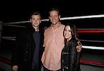 General Hospital's Kristen Alderson and Chad Duell came into New York City to see Broadway's Rocky on April 25, 2014 starring David Andrew MacDonald (Guiding Light and Another World) and then went backstage to meet the actors. Photos were taken backstage and on stage.(Photo by Sue Coflin/Max Photos)
