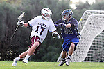 Los Angeles, CA 02/18/11 - Magnus Karlsson (LMU #17) and Mickell Walker (BYU #38) in action during the Loyola Marymount - BYU game at LMU.
