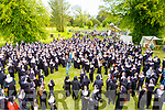 Nuns gathering in an attempt to break the Guinness World Record in the Tralee Town Park's fundriaser fot the Tralee rowing Club and Pieta House on Saturday.