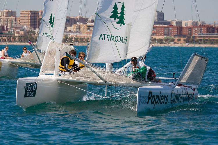 Fernando León (Esp.) .9th Trophée Clairefontaine, Saturday 13 and Sunday 14 September 2008, Marina Juan Carlos I, Valencia,Spain