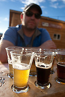 Enjoying some Crazy Mountain Brewing before hitting the Frying Pan the next day - Vail, Colorado
